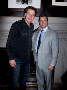 The DBL Center's Michael Cohen and Comedian Jim Florentine