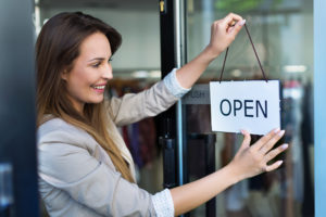New business owner opens store for the first time. Does she have the right business insurance?