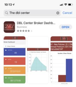 Broker Dashboard Net Revenue Tracker in app store